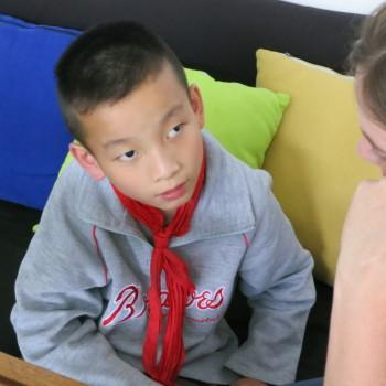 zhen zhen looking