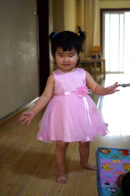 Lily pink dress