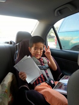 xander heading to airport