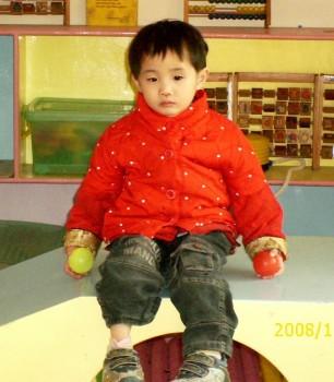 Hannah sitting sad