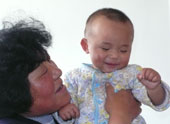 Baby Rupert smile