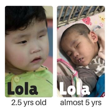 Lola has a Family!!