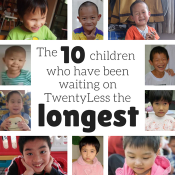 10 Children who have waited on TL the longest.